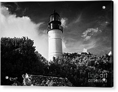 Key West Lighthouse Florida Usa Acrylic Print by Joe Fox