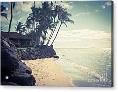 Acrylic Print featuring the photograph Kihei Maui Hawaii by Sharon Mau
