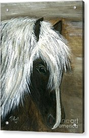 Acrylic Print featuring the painting Kola by Barbie Batson
