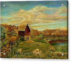 Kookaree Acrylic Print by William Allen