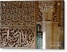La Alhambra Granada Acrylic Print by Guido Montanes Castillo
