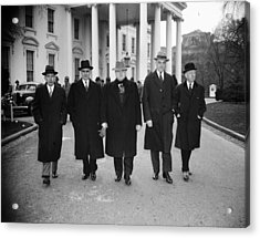 Labor Leaders, 1938 Acrylic Print by Granger