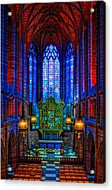 Lady Chapel Inside Liverpool Cathedral Acrylic Print
