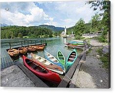 Lake Bohinj Bohinjsko Jezero, Triglav Acrylic Print