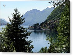 Lake Como Italy  Acrylic Print