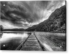 Lake Crescent In Olympic National Park Acrylic Print