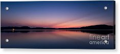 Lake Lanier After Sunset Acrylic Print