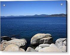 Lake Tahoe Acrylic Print by Frank Romeo