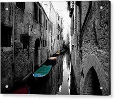 Acrylic Print featuring the photograph L'aqua Magica by Micki Findlay