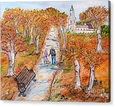 L'autunno Della Vita Acrylic Print