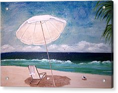 Acrylic Print featuring the painting Lazy Day by Jamie Frier