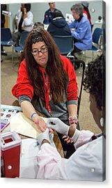 Lead Exposure Testing Acrylic Print