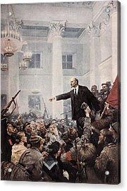 Lenin, Vladimir Ilich Ulyanov Acrylic Print by Everett