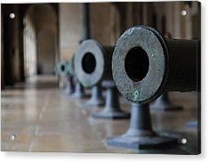 Les Invalides - Paris France - 01136 Acrylic Print by DC Photographer