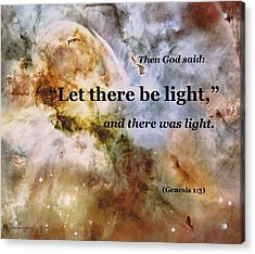 Let There Be Light Acrylic Print