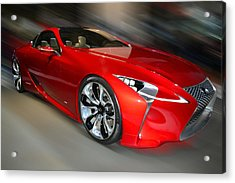 Lexus L F - L C Hybrid  2013 Acrylic Print