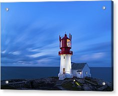 Lindesnes Fyr - Lighthouse In The South Of Norway Acrylic Print