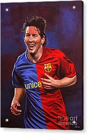 Lionel Messi  Acrylic Print