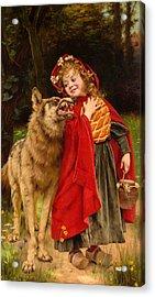 Little Red Riding Hood Acrylic Print