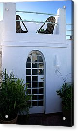 Living On The Roof In The Old Medina Of Tangier Acrylic Print by PIXELS  XPOSED Ralph A Ledergerber Photography