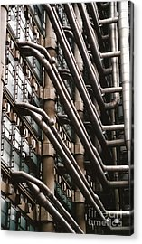 Lloyd's Of London 3 Acrylic Print by Dennis Knasel