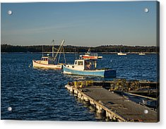 Lobster Boats Maine  Acrylic Print