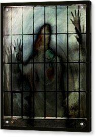 Locked In Acrylic Print by Gun Legler
