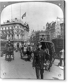 London Piccadilly Circus Acrylic Print by Granger