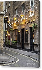 London Pub Acrylic Print