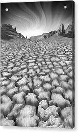 Long Walk Acrylic Print