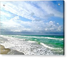 Paradise Found Acrylic Print by Margie Amberge