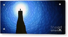 Love Will Show You The Light Acrylic Print by Chris Mackie
