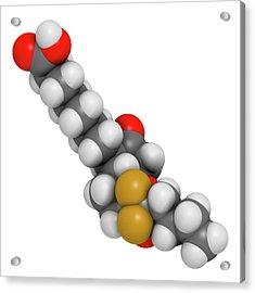 Lubiprostone Chronic Constipation Drug Acrylic Print by Molekuul