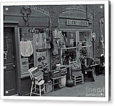 Acrylic Print featuring the photograph Lucky Seven by Juls Adams