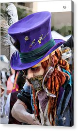 Mad Hatter Acrylic Print by James Stough