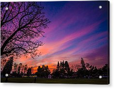 Acrylic Print featuring the photograph Magical Sky by Mike Lee