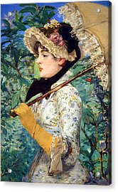 Acrylic Print featuring the photograph Manet's Spring by Cora Wandel
