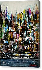 Manhattan Morning Acrylic Print