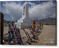 Manzanar War Relocation Center Acrylic Print by Jim West