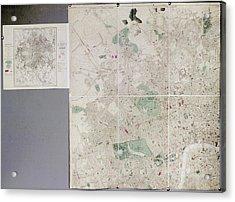 Map Of London Acrylic Print