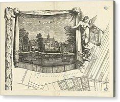 Map Of The Heerlijkheid Maarsseveen, The Netherlands Acrylic Print