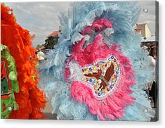 Mardi Gras Indians Acrylic Print