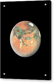 Mars Acrylic Print by Detlev Van Ravenswaay