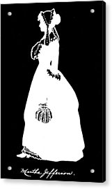 Martha Jefferson Randolph (1772-1836) Acrylic Print by Granger
