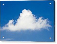 Marthas Vineyard Cloud Acrylic Print