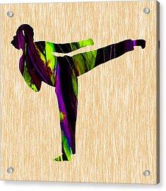 Martial Arts Karate Acrylic Print