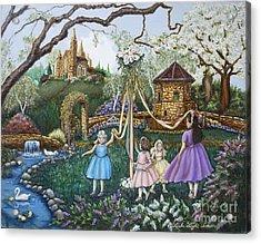 Mayday Serenade  Acrylic Print by Linda Simon