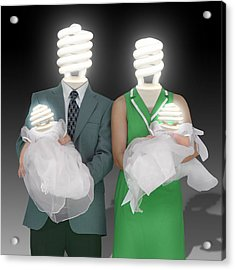 Meet The Greens Acrylic Print by Mike McGlothlen
