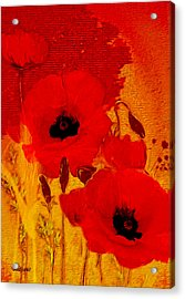Mellow Yellow Acrylic Print