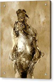 Melt Acrylic Print by Kurt Van Wagner
